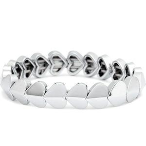 Kate Spade New York Shiny Hearts Bracelet Silver